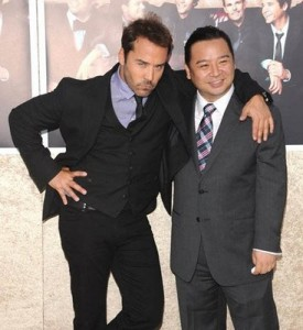 Jeremy Piven With Rex Lee
