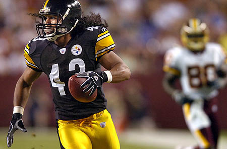 Troy Polamalu Pittsburg Steelers