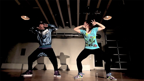 """Di """"Moon"""" Zhang Dance - If I Was You Remix by Far East Movement featuring Snoop Dogg"""