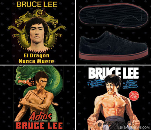 NIKE SB Bruce Lee Edition by Paul Rodriguez