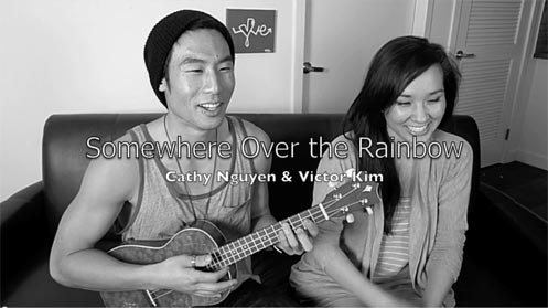 Somewhere Over The Rainbow (Cover) by Cathy Nguyen & Victor Kim