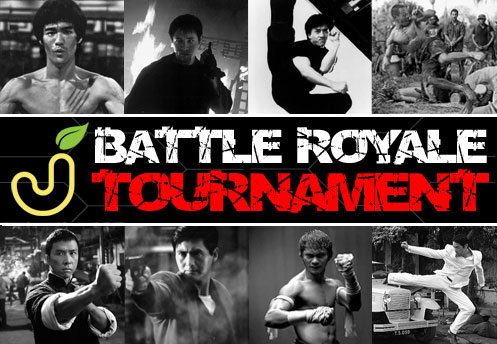 Jackfroot.com's Battle Royale Tournament featuring Bruce Lee, Jet Li, Jackie Chan, Chow Yun Fat, Johnny Tri Nguyen, Donnie Yen, Ernie Reyes Jr, Tony Jaa,