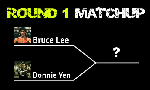 Bruce Lee vs Donnie Yen