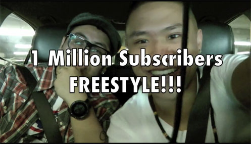 1 Million Subscribers Freestyle by Timothy DeLaGhetto aka Traphik featuring Andrew Garcia