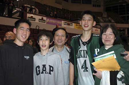 Jeremy Lin in High School Palo Alto High