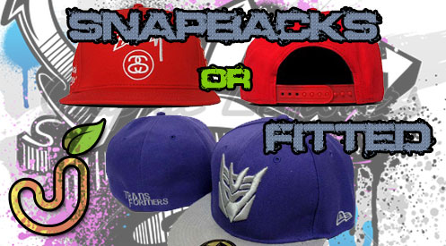 Snapbacks or Fitted caps