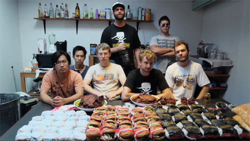 Epic Meal Time featuring Freddie Wong
