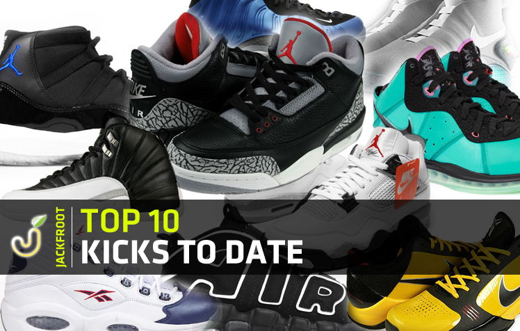 Jackfroot.com's Top 10 Kicks To Date