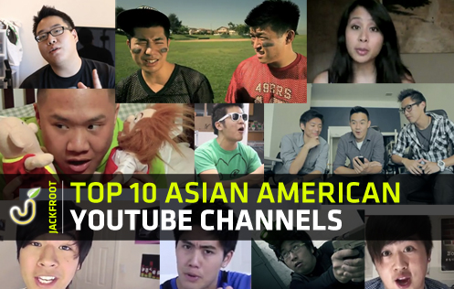 Top 10 Asian American YouTube Channels - NigaHiga, Freddiew, KevJumba, Timothy DeLaGhetto, Wong Fu Productions, Happy Slip, Peter Chao, Mychonny, JustKiddingFilms, David So