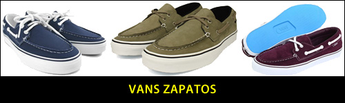 vans zapatos boat shoes