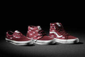 wtaps vans syndicate burgundy bones pack