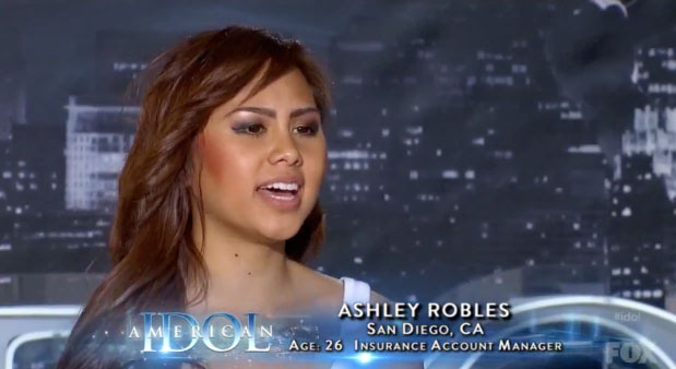 Ashley Robles ~ American Idol 2012 Auditions San Diego