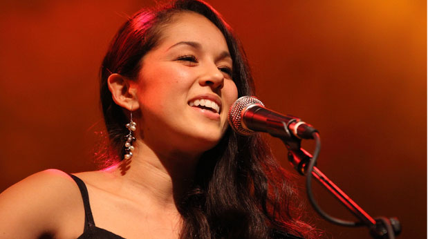 Kina Grannis on Jimmy Kimmel Live on Thursday, January 12