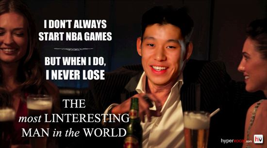 J Lin – The most interesting man in the world