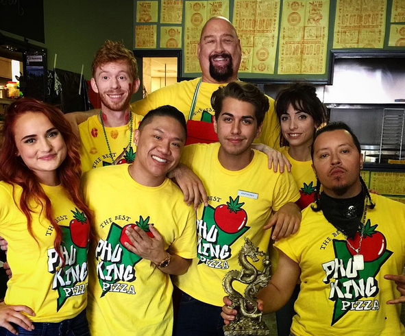 the pizza joint cast