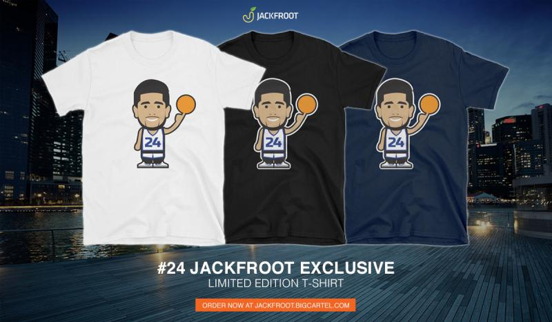 jackfroot basketball tshirt