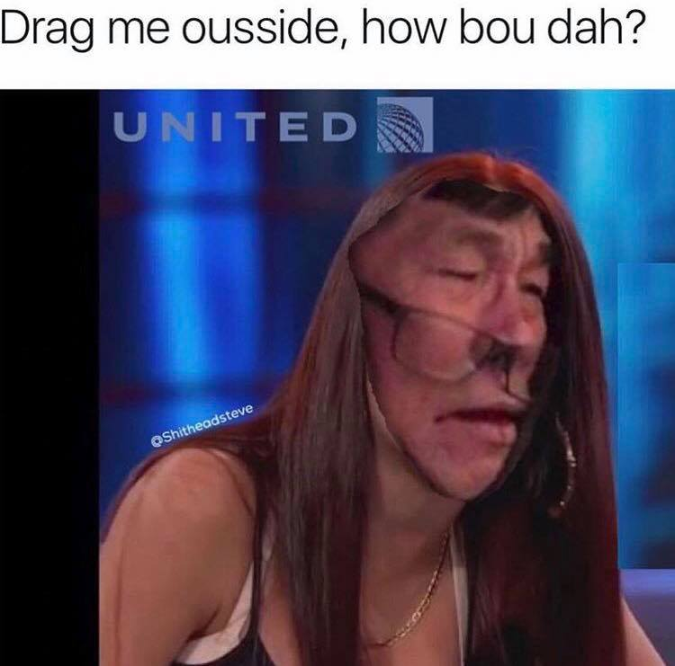 united airlines memes doctor