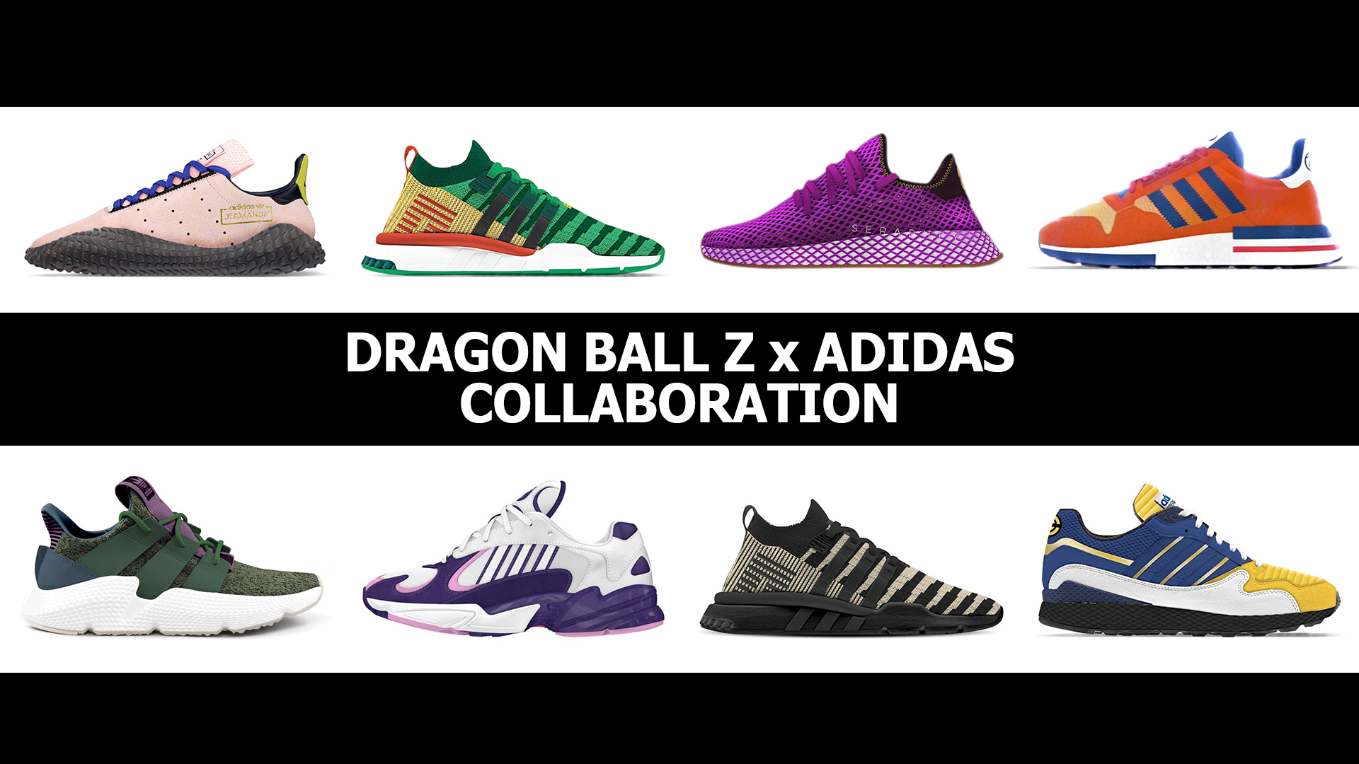 b86dbb399bca Check Out the SUPER SAIYAN Adidas x Dragon Ball Z Collab